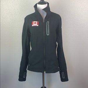 Columbia titanium zip up jacket